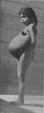 pregnant lina medina