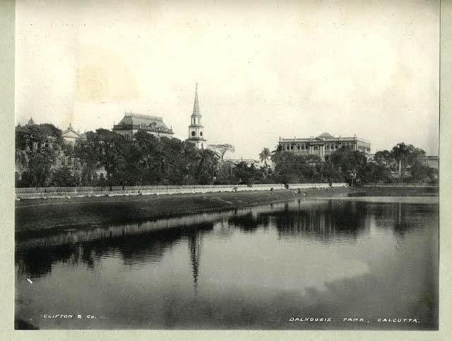 1890s-photo-dalhousie-tanks-calcutta