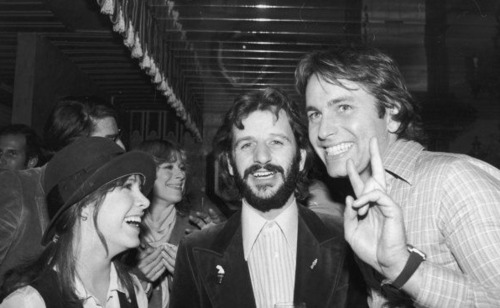 Carrie-Fisher-Ringo-Starr-and-John-Ritter