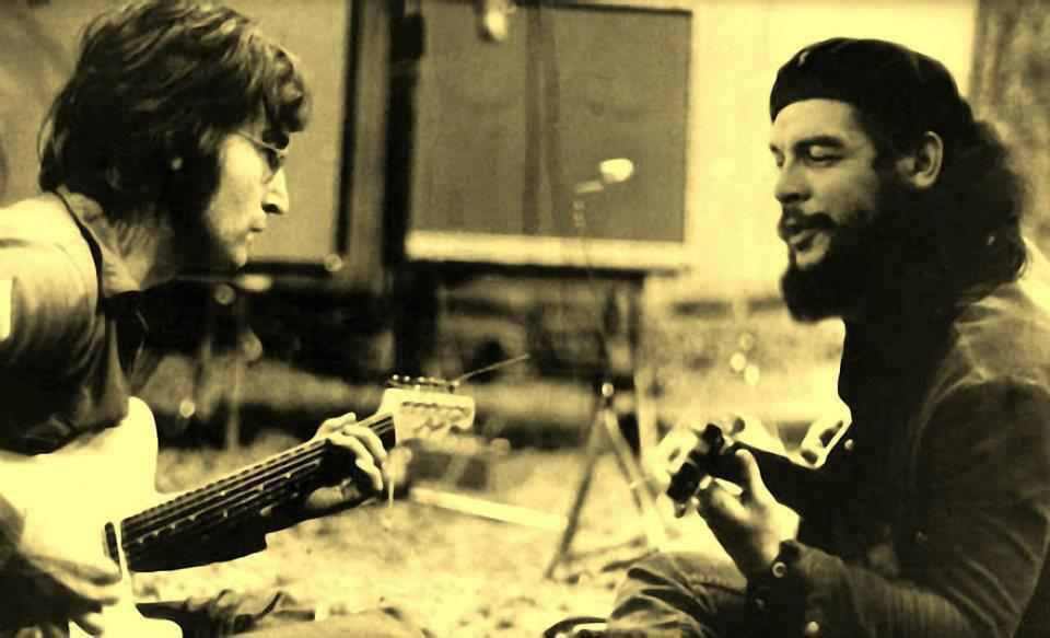Lennon and Che Guevara