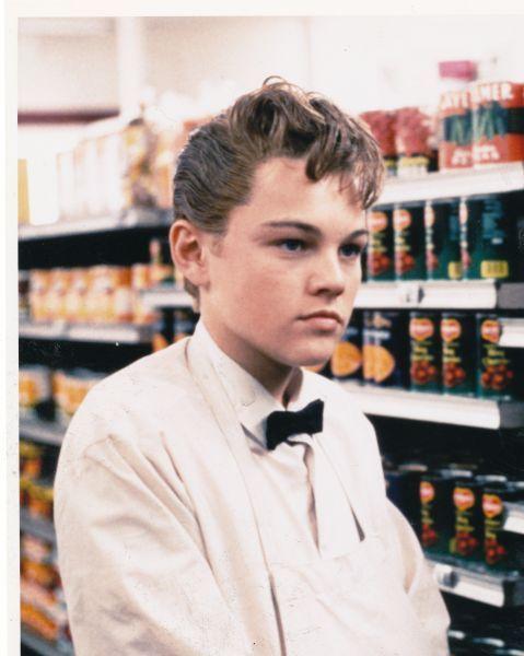 Leonardo-Di-Caprio-in-young-age