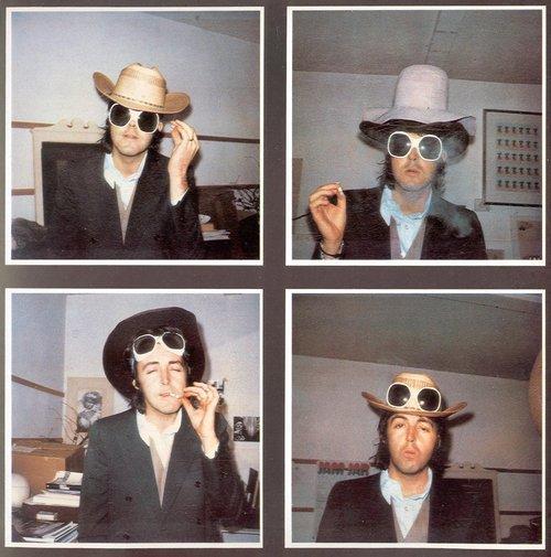 Paul McCartney in various dress