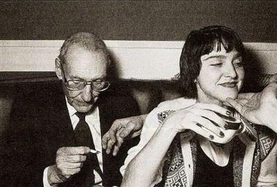 William-Burroughs-and-Madonna