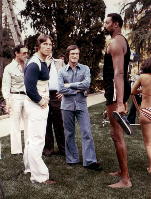 Arnold-Schwarzenegger-Hugh-Heffner-and-Wilt-Chamberlain