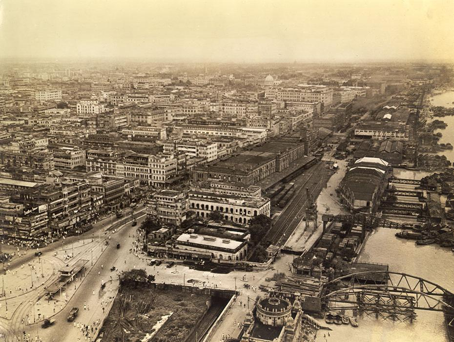 calcutta-in-1947-view-from-sky