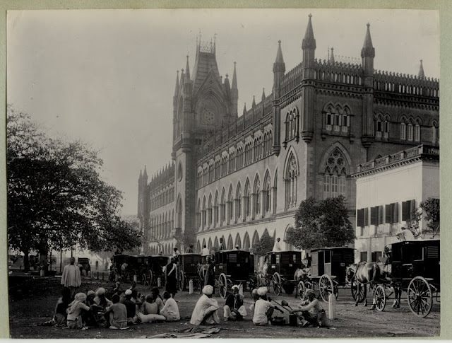 Calcutta-Kolkata-High-Court-India-1890s