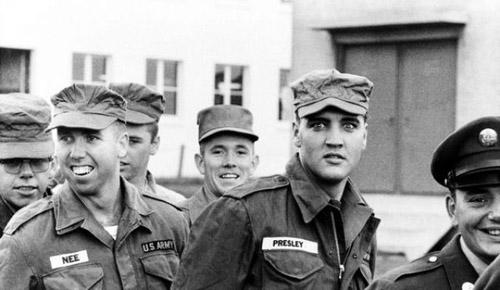 Elvis-Presley-in-military