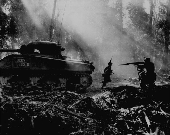 field-battle-between-american-soldier-and-japanese-in-war