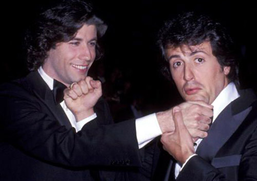John-Travolta-and-Sylvester-Stallone-at-the-Oscars-1978