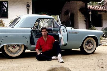 John-Travolta-with-his-car