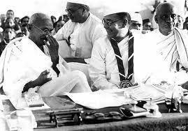 Mahatma-Gandhi-Subhas-Bose-Sardar-Patel-at-Tripura-Congress