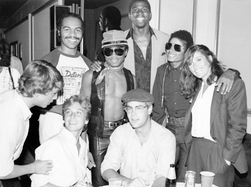 Marlon-Jackson-Magic-Johnson-Michael-Jackson-Margot-Kidder-Tatum-ONeal-and-Dan-Aykroyd