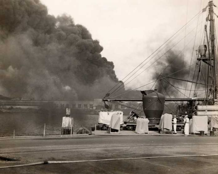 pearl-harbor-attack-destroyed-factory