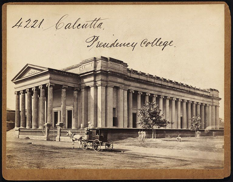 Presidency-College-Calcutta-Kolkata-Second-View-Mid-19th-Century