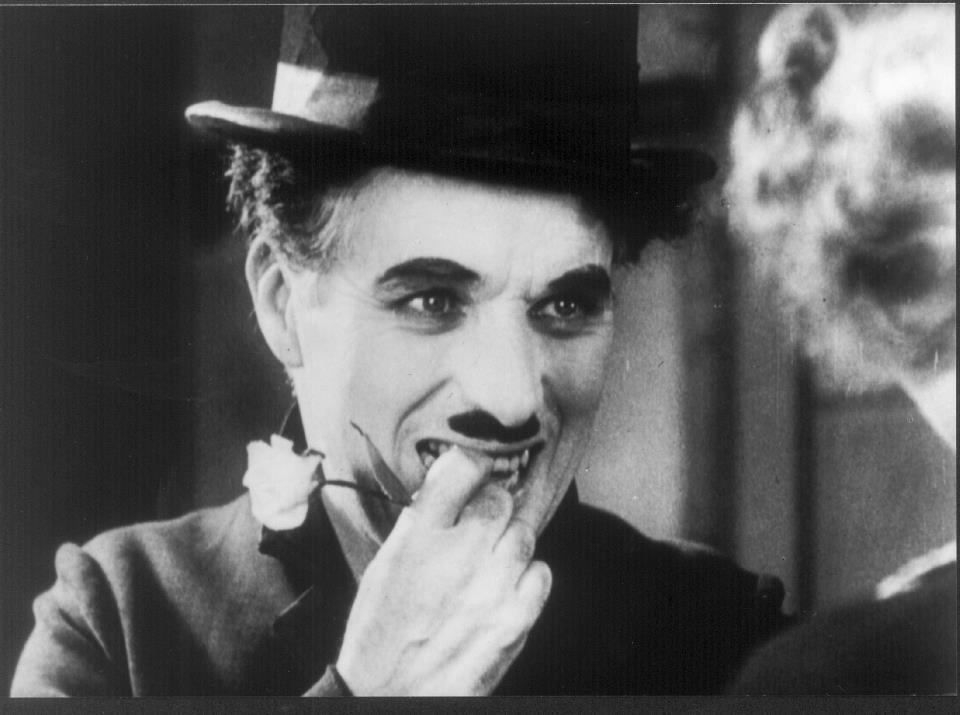 Rare pic of Charlie Chaplin