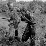 Vietnamese-soldier-hit-to-another-soldier-suspecting-sabotage