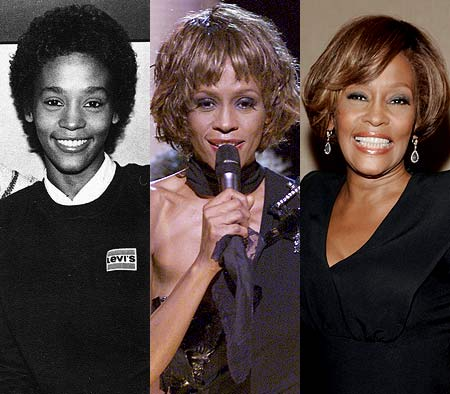 whitney-houston-from-childhood