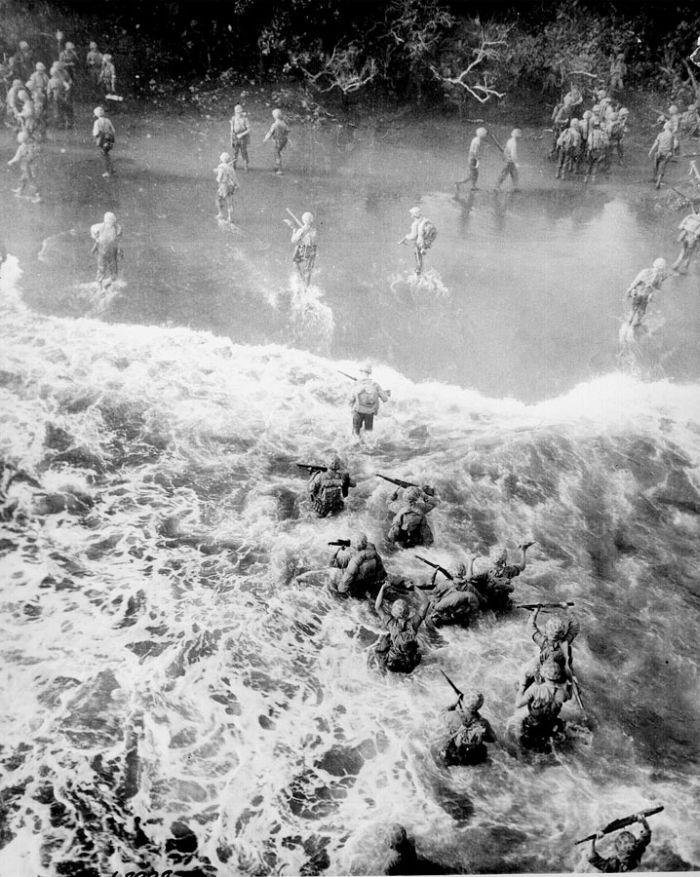 world-war-2-soldiers-crossing-a-river-in-battle-of-cape-gloucester