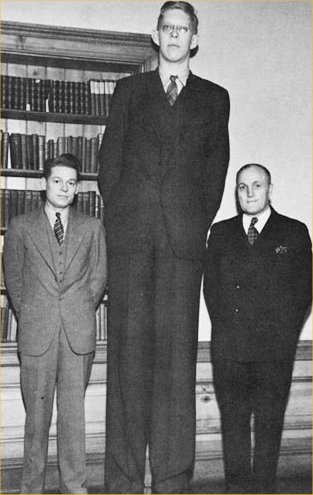 robert-wadlow-standing-with-two-normal-person