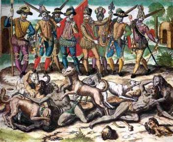Christopher-Columbus-in-america-kill-people