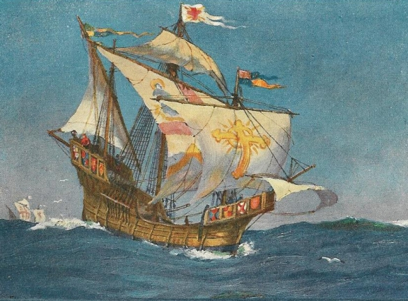 John-cabot-ship-during-voyage