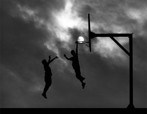 basketball-playing-with-sun