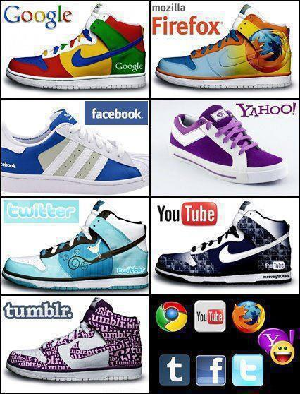 shoes-colour-matching-with-google-facebook-youtube