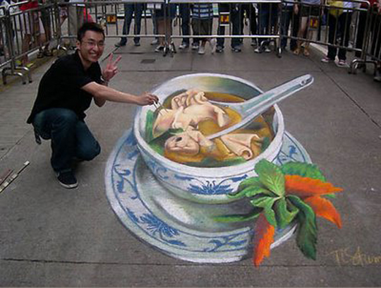 soup 3d art work