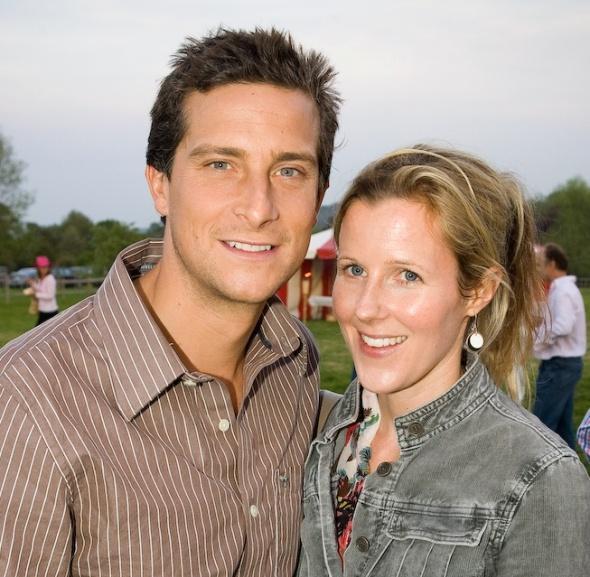 BEAR-GRYLLS-with-his-girlfriend-Shara Grylls