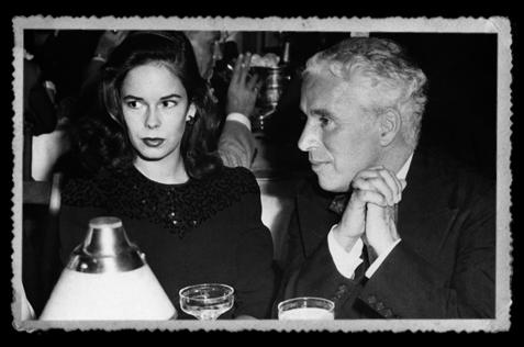 Charlie-Chaplin-Oona-O'neill-Mocambo-night-club