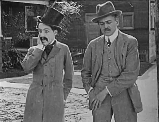 Charlie-Chaplin-in-his-first-movie