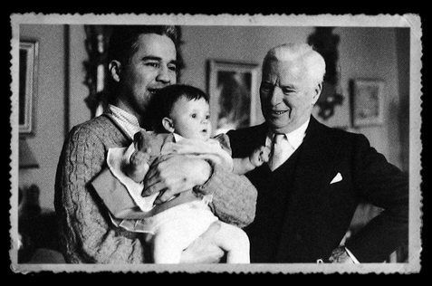 chaplin-first-grandchild- Susan-&-her-father-Charles-jr-1960