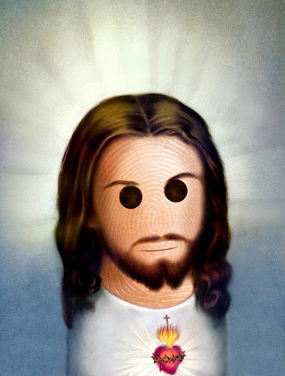 JESUS-CHRIST-IN-FINGER-TIPS-PORTRAIT