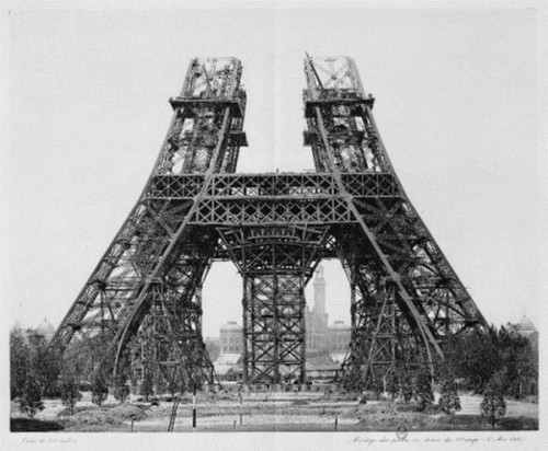eiffel-tower-1st-phase-of-construction