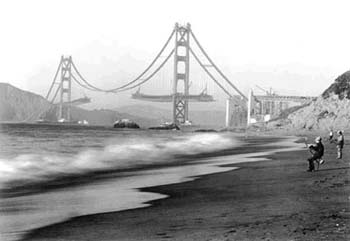 A-man-fishing-near-Golden-Gate-Bridge