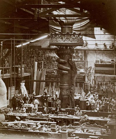 construction-of-torch-of-statue-of-liberty-in-1880
