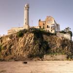 Alcatraz-Prison-with-light-house-remnant-now-as-Tourist-spot