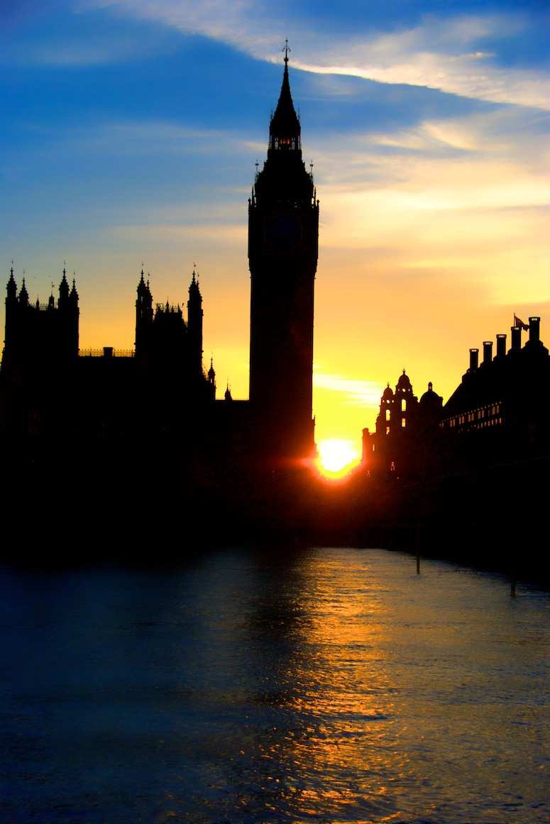 Big-Ben-sunset-in-summer
