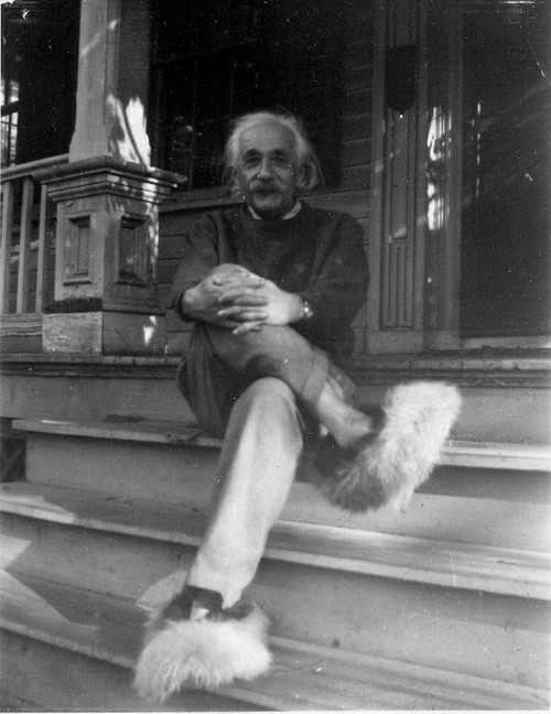 Albert-Einstein-in-his-house