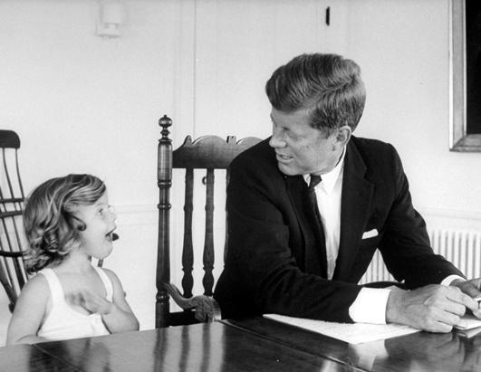 Caroline-disturbs-JFK-america-35th-president