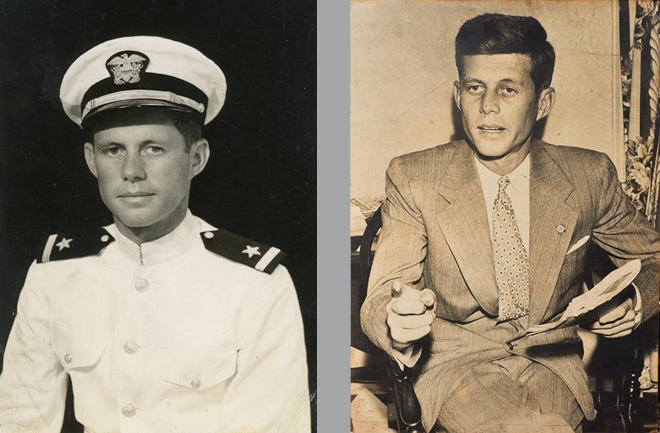 JFK-as-Navy-officer-in-world-war-2
