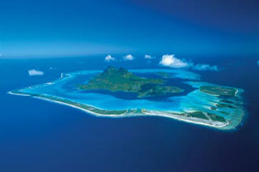 Bora-Bora-islands-deep-blue-colour
