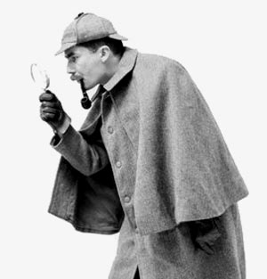 Sherlock-holmes-invesgating-with-magnifying-glass