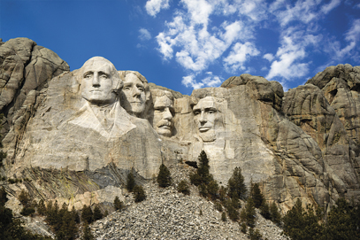 Mount Rushmore National Monument.