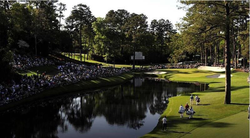 augusta-national-golf-club-QuintEvents-Fans-Lining-Golf-Course-Water-Ponds
