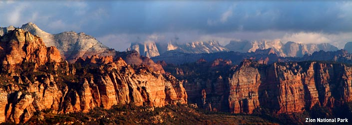 Zion-National-Park-looks-beautiful-during-sunrise