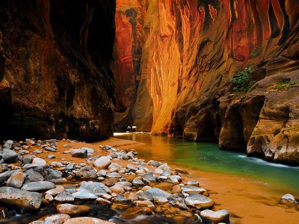 Zion-National-Park-sandstone-cliffs