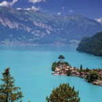 Blue Lake of Switzerland