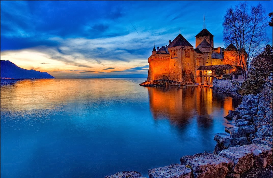 Chillon-Castle-built-in-9th-century