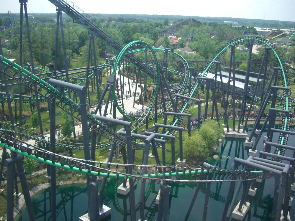 Roller-coaster-in-Carowinds